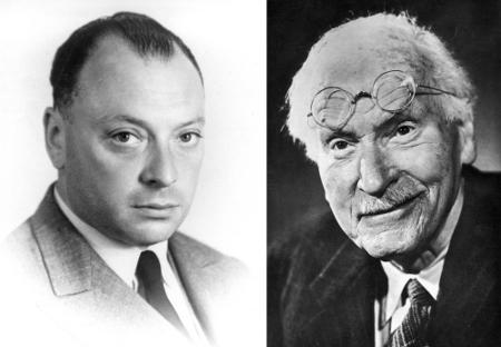 Wolfgang Pauli et Carl Jung